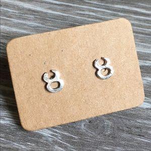 last pair! ✨ sterling silver taurus studs ♉️